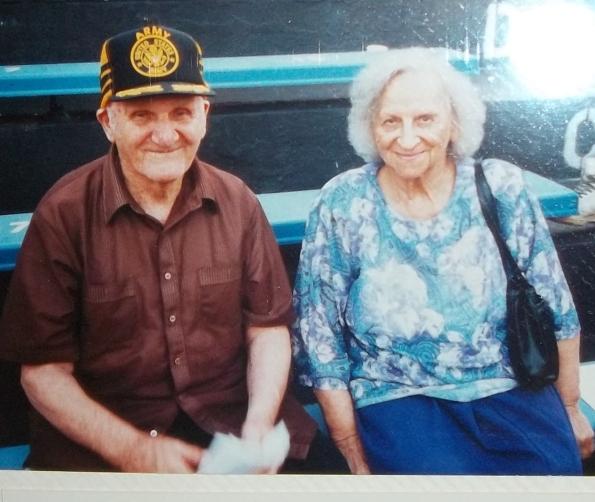 Grandparents on Graduation Day
